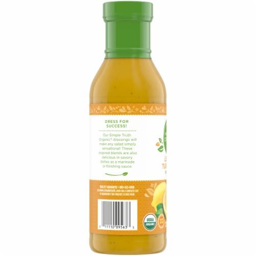 Simple Truth Organic® Lemon Turmeric Dressing Perspective: left