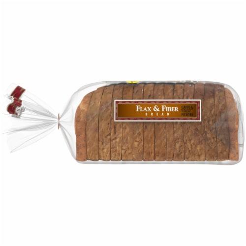Western Hearth Omega 3 Flax & Fiber Widepan Bread Perspective: left