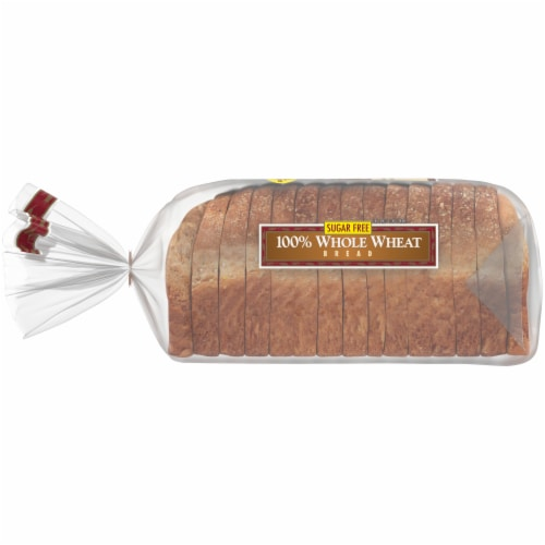 Western Hearth® Sugar Free Wide Pan 100% Whole Wheat Bread Perspective: left