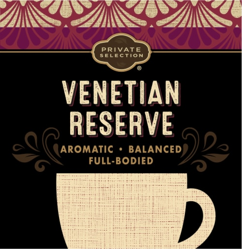Private Selection® Venetian Reserve Medium-Dark Roast Coffee K-Cup Pods Perspective: left