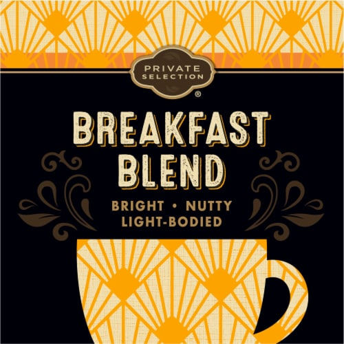 Private Selection® Fair Trade Breakfast Blend Light Roast Coffee K-Cup Pods Perspective: left