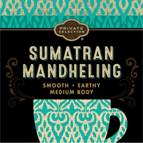 Private Selection® Fair Trade Sumatran Mandheling Medium-Dark Roast Whole Bean Coffee Perspective: left