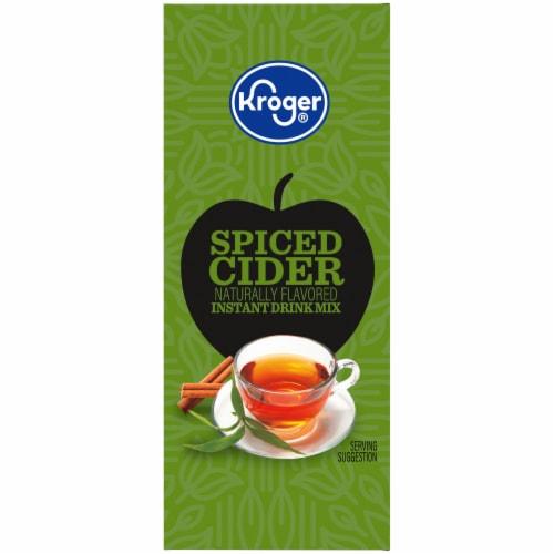 Kroger® Naturally Flavored Spiced Cider Instant Drink Mix Perspective: left
