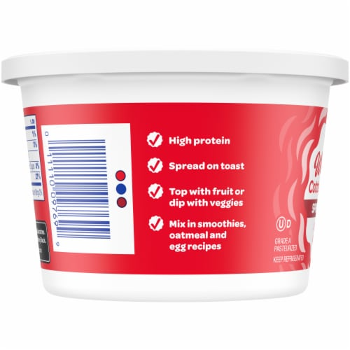 Kroger® 4% Whipped Cottage Cheese Perspective: left