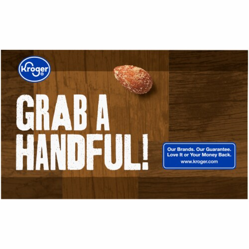 Kroger® Roasted Almonds Salted with Sea Salt Variety Pack Perspective: left