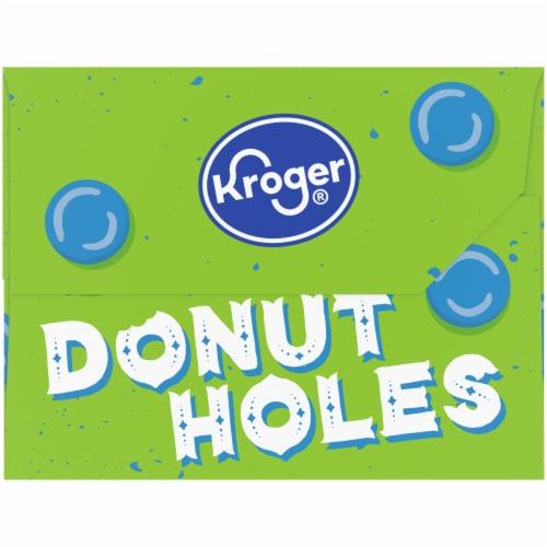 Kroger® Powdered Donut Holes Perspective: left