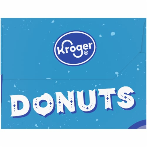 Kroger® Cinnamon Sugared Cake Donuts 12 Count Perspective: left