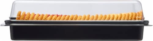 Kroger® Pepperoni Mild Cheddar Cheese & Crackers Snack Tray Perspective: left