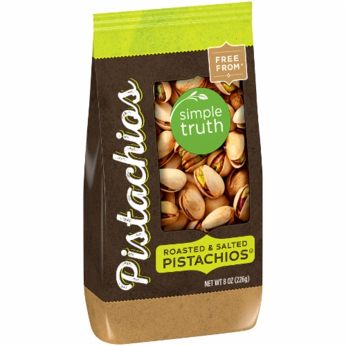 Simple Truth™ Roasted & Salted Pistachios Perspective: left