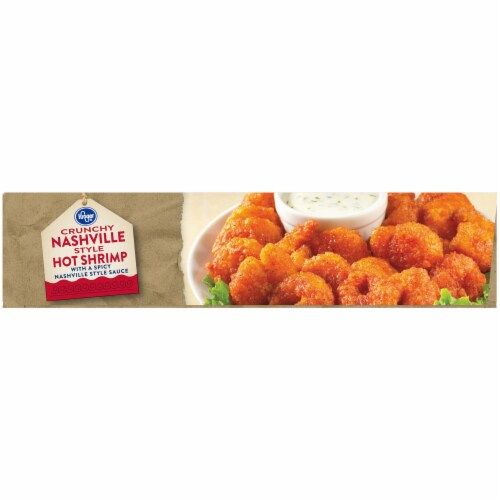 Kroger® Crunchy Nashville Style Hot Shrimp with a Spicy Nashville Style Sauce Perspective: left