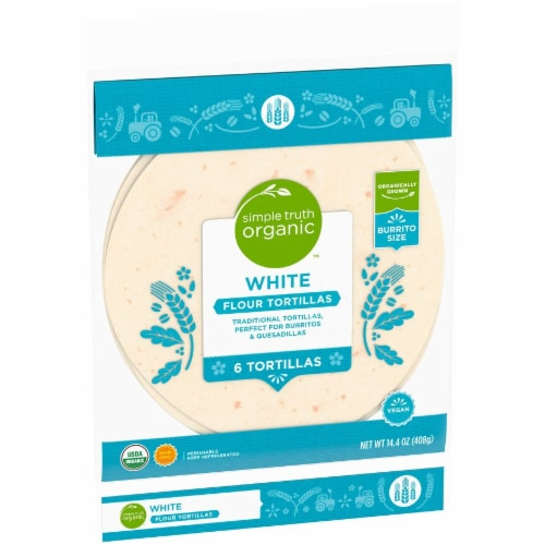 Simple Truth Organic™ White Flour Tortillas Perspective: left