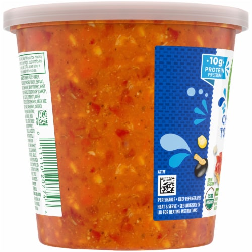 Simple Truth Organic® Chicken Tortilla Soup Perspective: left