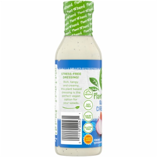 Simple Truth Plant Based Gluten Free Ranch Dressing Perspective: left
