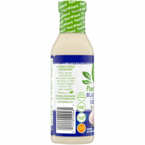 Simple Truth™ Plant Based Blue Cheese Dressing Perspective: left