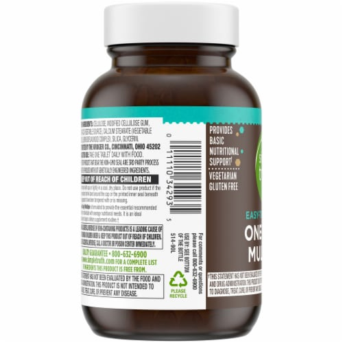 Simple Truth® Easy-To-Swallow One Daily Multiple Vitamin Tablets Perspective: left