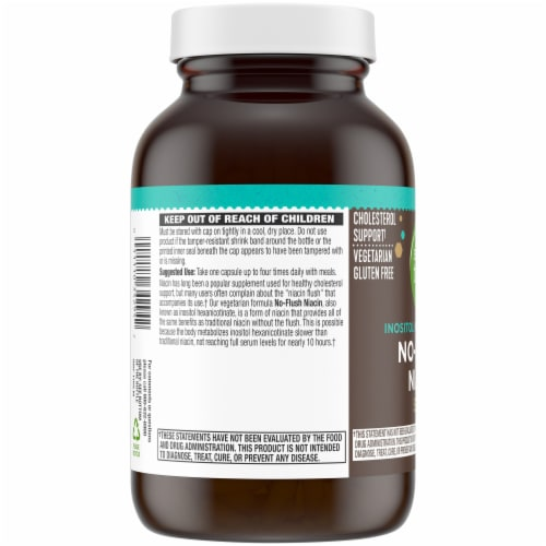 Simple Truth® No-Flush Niacin Capsules 525mg 100 Count Perspective: left