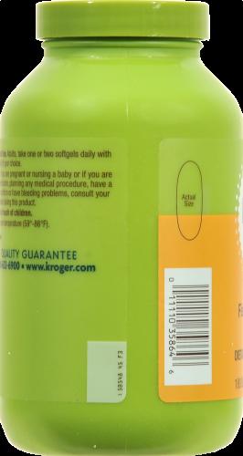 Kroger®  Heart Support 1000 mg Fish Oil Soft Gels Perspective: left