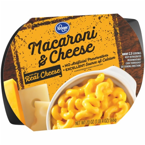Kroger® Macaroni & Cheese Perspective: left