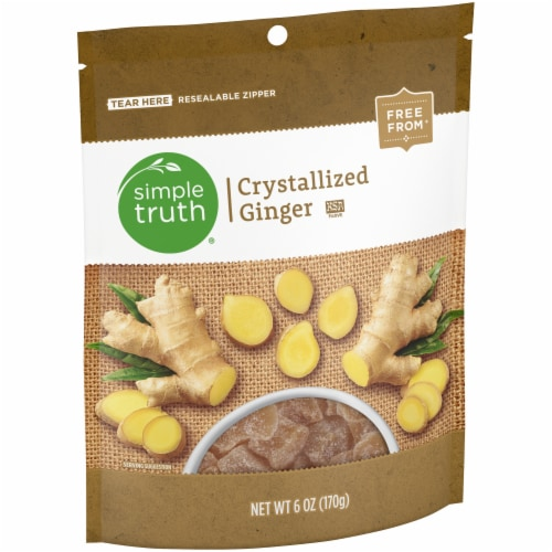 Simple Truth® Crystalized Ginger Perspective: left