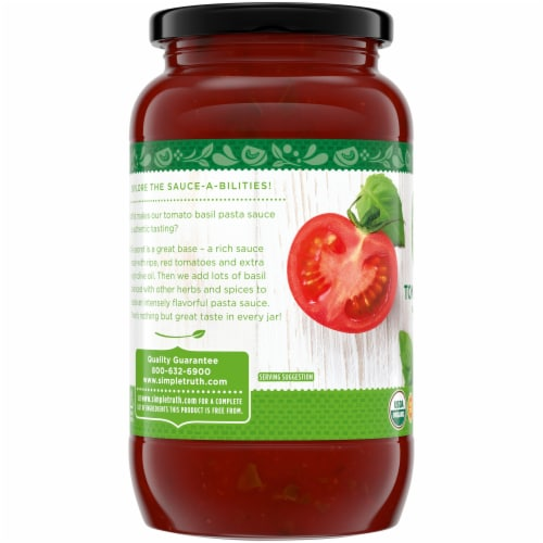 Simple Truth Organic™ Tomato Basil Pasta Sauce Perspective: left