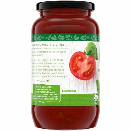 Simple Truth Organic™ Tomato Basil Pasta Sauce Perspective: left