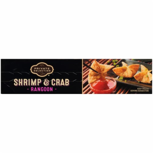 Private Selection® Shrimp and Crab Rangoon's with Thai Chili Sauce Frozen Meal Perspective: left