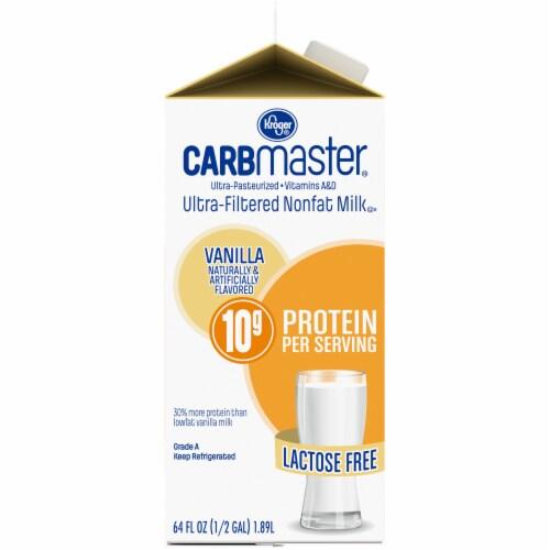 Kroger® CarbMaster® Vanilla Ultra-Filtered Nonfat Milk Perspective: left