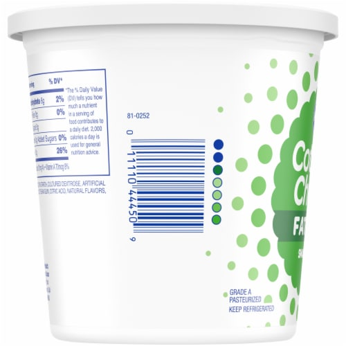 Kroger® Small Curd Fat Free Cottage Cheese Perspective: left