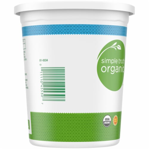 Simple Truth Organic™ Plain Low-Fat Yogurt Perspective: left