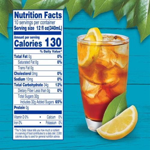 Kroger® Decaf Lemon Flavored Sweet Iced Tea Perspective: left