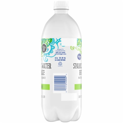 Kroger® Key Lime Sparkling Water Perspective: left