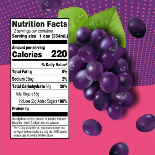 Big K® Grape Soda Perspective: left