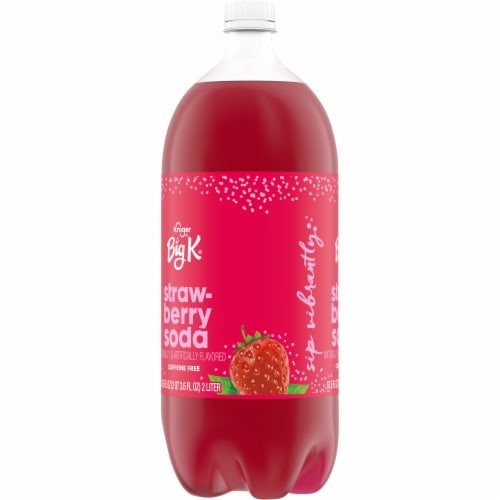 Big K® Strawberry Soda Perspective: left
