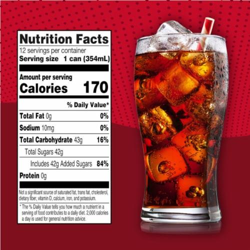 Big K® Cola Soda Perspective: left