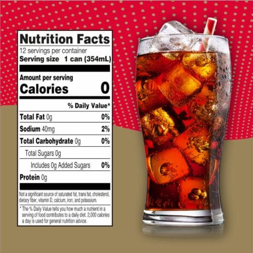 Big K® Caffeine Free Diet Cola Perspective: left