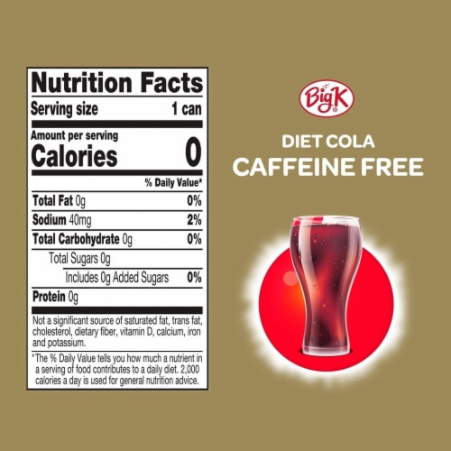Big K® Diet Cola Perspective: left