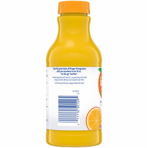 Kroger® 100% Orange Juice Perspective: left