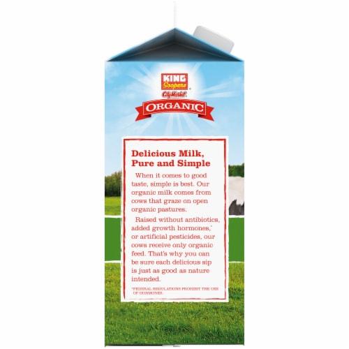 King Soopers® City Market® Organic 1% Low Fat Milk Perspective: left