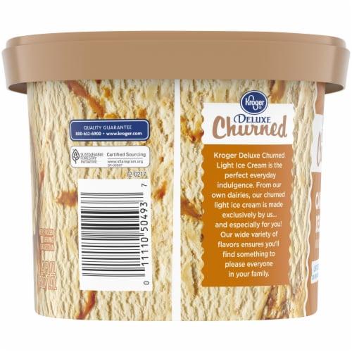 Kroger® Deluxe Churned Caramel Delight Light Ice Cream Perspective: left