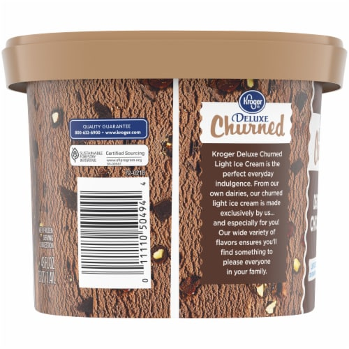 Kroger® Deluxe Death By Chocolate Churned Light Ice Cream Perspective: left