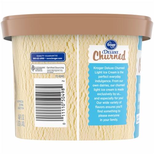 Kroger® Deluxe Vividly Vanilla Churned Light Ice Cream Perspective: left