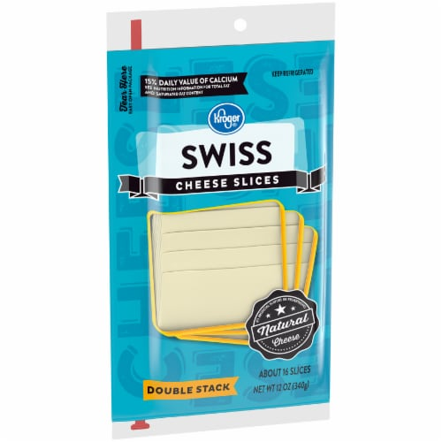 Kroger® Swiss Cheese Slices Perspective: left