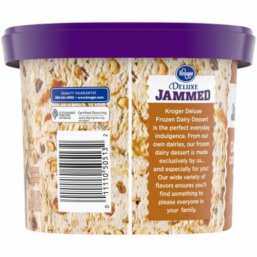 Kroger® Deluxe Jammed BabyRuth Caramel Candy Crunch Frozen Dairy Dessert Perspective: left