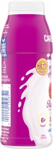 Kroger® CarbMaster® Raspberry Protein Smoothie Perspective: left