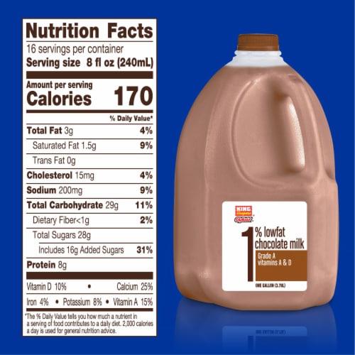 King Soopers® City Market® 1% Low Fat Chocolate Milk Perspective: left