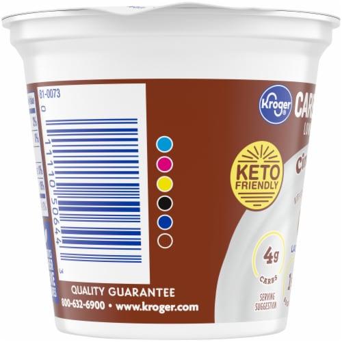 Kroger® CarbMaster® Cinnamon Roll Cultured Dairy Blend Perspective: left
