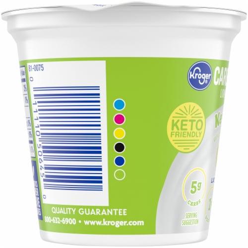 Kroger® CarbMaster® Key Lime Cultured Dairy Blend Yogurt Perspective: left