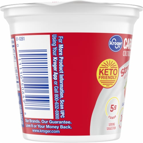 Kroger® CarbMaster® Strawberry Cultured Dairy Blend Perspective: left