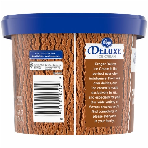 Kroger® Deluxe Chocolate Paradise Ice Cream Perspective: left
