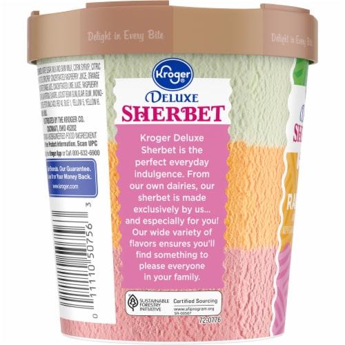 Kroger®  Deluxe Rainbow Sherbet Tub Perspective: left